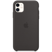 Apple iPhone 11 Silicone Case Black