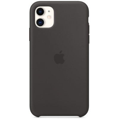 Чехол Apple iPhone 11 Silicone Case Черный