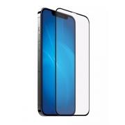 Защитное стекло Ainy 2.5D Full Screen Cover для iPhone 12 / 12 Pro Matte Black