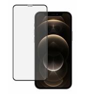 Защитное стекло для iPhone 12 / 12 Pro Ainy Full Screen Cover Glass 0.25мм Black
