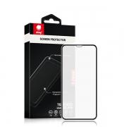 Защитное стекло для iPhone X / XS / 11 Pro Ainy Full Screen 0.25 мм Matte Black
