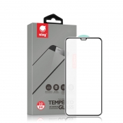 Защитное стекло для iPhone XS Max / 11 Pro Max Ainy Full Screen Cover 3D 0.2мм с силиконовыми краями Black
