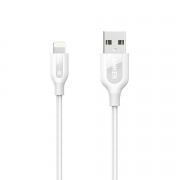 Укрепленный кабель Anker PowerLine+ Lightning to USB Cable 0.9м White