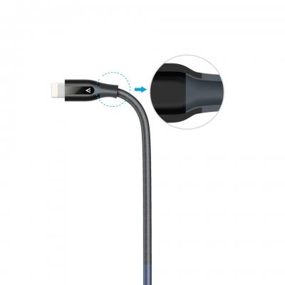 Укрепленный кабель Anker PowerLine+ Lightning to USB Cable 0.9м Черный