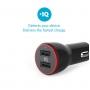 Автомобильное зарядное устройство Anker 2xUSB 24W 4.8A PowerDrive 2 Black + Lightning 0.9m