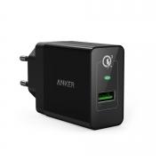 Сетевое зарядное устройство Anker PowerPort+1 18W with Quick Charge 3.0 Black