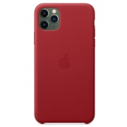 Apple Leather Case для iPhone 11 Pro Max (Product) Red