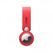 Кожаный брелок-подвеска для AirTag Apple Leather Loop (PRODUCT)RED