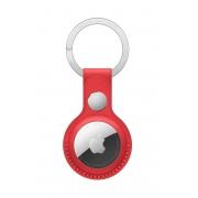 Кожаный брелок для AirTag Apple Leather Key Ring (PRODUCT)RED