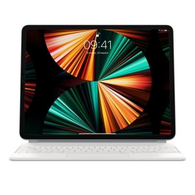 """Чехол-клавиатура Apple Magic Keyboard для iPad Pro 12.9"""" (5-го поколения) (с русской раскладкой) MJQL3RS/A Белая"""
