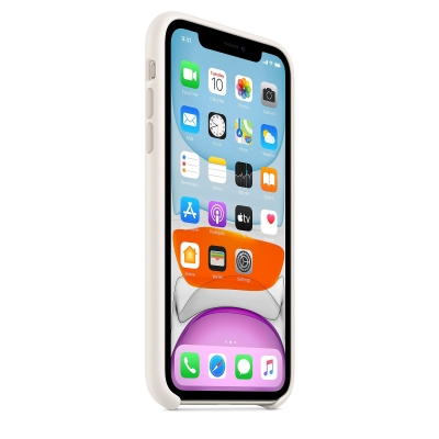 Чехол Apple iPhone 11 Silicone Case Белый