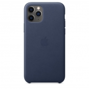 Apple iPhone 11 Pro Leather Case Midnight Blue