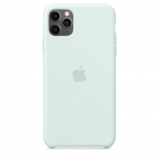Apple iPhone 11 Pro Silicone Case Seafoam