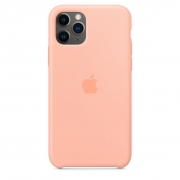 Apple iPhone 11 Pro Silicone Case Grapefruit