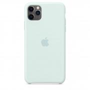 Apple iPhone 11 Pro Max Silicone Case Seafoam