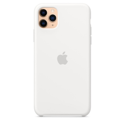 Чехол Apple iPhone 11 Pro Silicone Case Белый