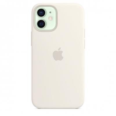 Силиконовый чехол Apple MagSafe для iPhone 12 mini Белый