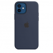 Apple iPhone 12 mini Silicone Case with MagSafe Deep Navy