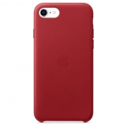Apple iPhone SE (2020) / 8 / 7 Leather Case (PRODUCT)RED