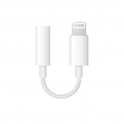 Адаптер Apple Lightning на выход 3,5мм для наушников