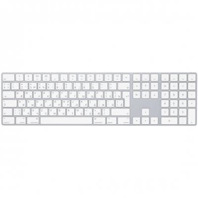 Клавиатура Apple Magic Keyboard с русской раскладкой и цифровой панелью Серебристый