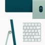 Apple iMac 24 (2021) Retina 4,5K M1 (8C CPU, 8C GPU) / 16 Гб / 256 Гб SSD Зеленый Z12U000BV RUS