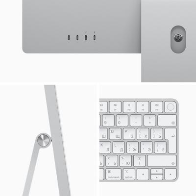 Apple iMac 24 (2021) Retina 4,5K M1 (8C CPU, 8C GPU) / 16 Гб / 1 Тб SSD Серебристый Z12Q000BZ RUS