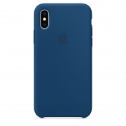 Apple iPhone XS Silicone Case Blue Horizon