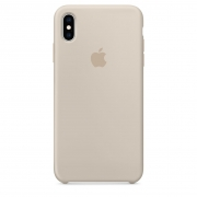 Apple iPhone XS Max Silicone Case Stone
