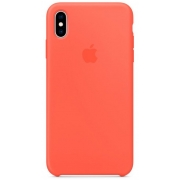 Apple iPhone XS Max Silicone Case Nectarine