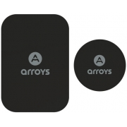Набор металлических пластин Arroys Metal Plate Set Black