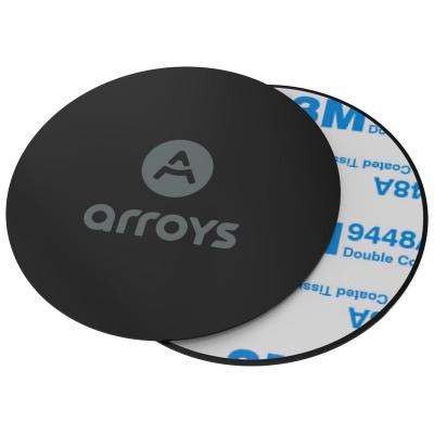 Пластины для магнитных держателей Arroys Metal Plate Set