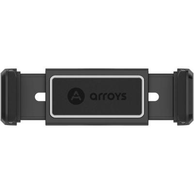 Автомобильный держатель в дефлектор Arroys Vent C1 Черный