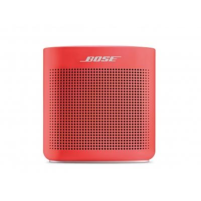 Портативная колонка Bose SoundLink Color II красная