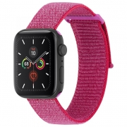 Ремешок Case-Mate Nylon Watch Band для Apple Watch Series 38/40mm Metallic Pink