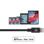 Кабель Griffin USB-C to Lightning Cable 1.2м Черный