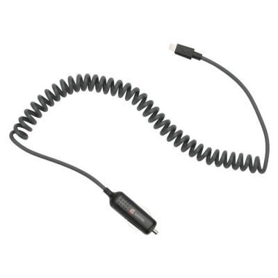 Автомобильное зарядное устройство Griffin 12W Powerjolt SE с кабелем Lightning