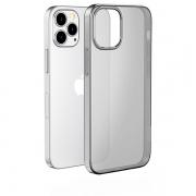Чехол HOCO Light Series TPU для iPhone 12 / 12 Pro Transparent Black