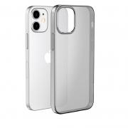 Чехол HOCO Light Series TPU для iPhone 12 mini Transparent Black