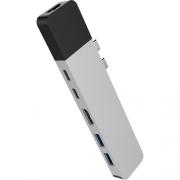 Адаптер HyperDrive NET 6-in-2 USB-C Hub Silver