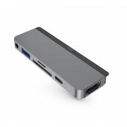 Адаптер HyperDrive 6-in-1 Hub для iPad Pro Space Gray