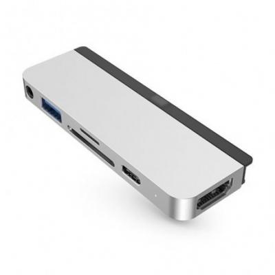 Адаптер HyperDrive 6-in-1 Hub Серебристый