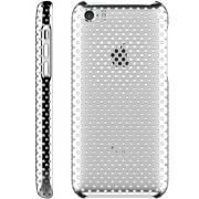 Защитный чехол для iPhone 5c IRUAL Meshsell Silver
