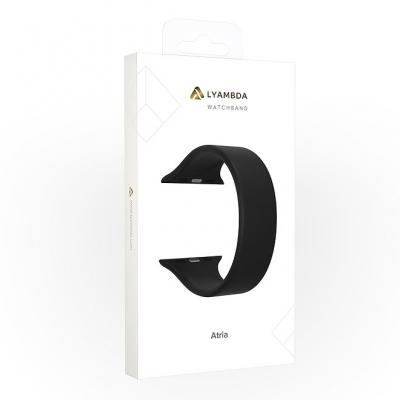 Ремешок Lyambda Atria для Apple Watch 42/44 мм Черный