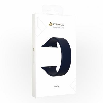 Ремешок Lyambda Atria для Apple Watch 42/44 мм Темно-синий