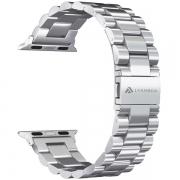 Ремешок Lyambda Keid для Apple Watch 42/44 мм Silver