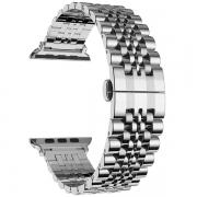 Ремешок Lyambda Castor для Apple Watch 42/44 мм Silver