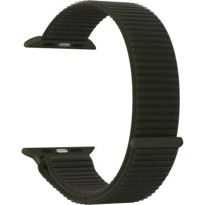 Нейлоновый ремешок Lyambda Vega для Apple Watch 42/44 мм Хаки