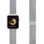 Ремешок Lyambda Capella для Apple Watch 38/40 мм Серебристый