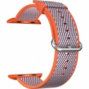 Ремешок Lyambda Polis для Apple Watch 38/40 мм Orange